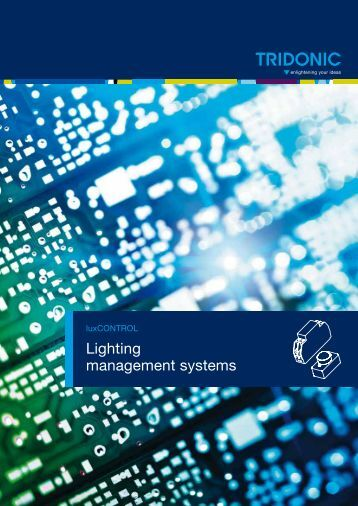 Lighting management systems