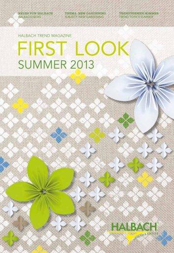 Halbach Trend Magazin Summer 2013 (PDF- ca. 5