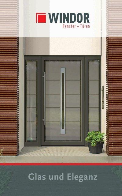 Glas und Eleganz Haustüren Katalog - WINDOR Fensterwerk
