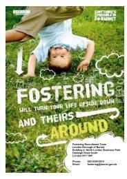 Fostering Recruitment Team London Borough of Barnet Building 4 ...