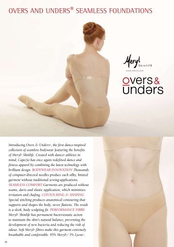 OVERS AND UNDERS® SEAMLESS FOUNDATIONS - Tantsutarbed