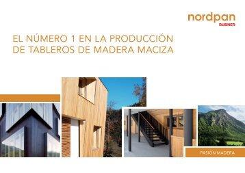 el número 1 en la producción de tableros de ... - Nordpan - Rubner