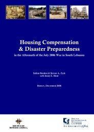 Housing Compensation & Disaster Preparedness - Norwegian ...