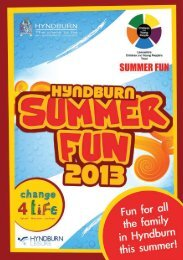 Hyndburn - Young People's Service