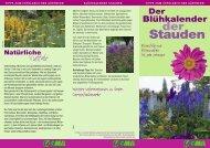 Der Blühkalender der Stauden - Bund deutscher Staudengärtner