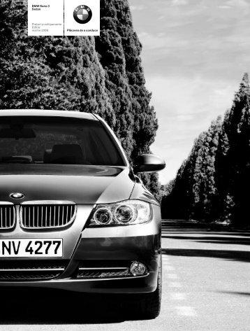 Descărcare. Lista de preţuri curente pentru modelul BMW Seria 3 ...