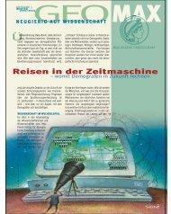 Reisen in der Zeitmaschine - the Max Planck Institute for ...