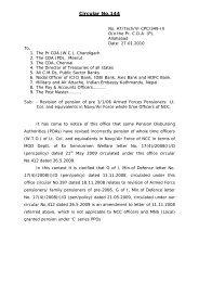 Circular No.144 - Controller of Defence Accounts (Pensions)