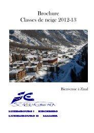 Brochure Classes de neige 2012-13 (pdf) - Ecole Européenne de ...