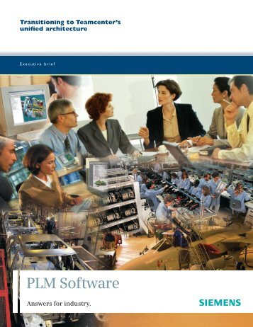 Teamcenter's unified - Siemens PLM Software
