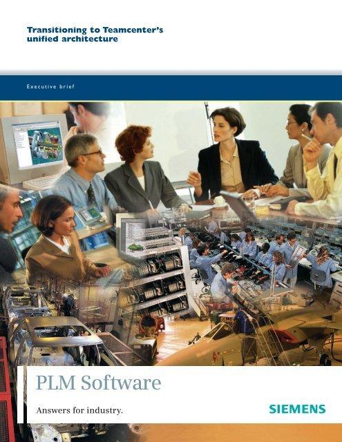 Teamcenter's unified - Siemens PLM Software