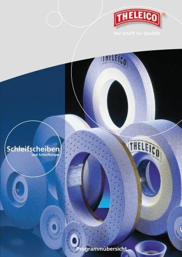 Schleifscheiben - THELEICO Schleiftechnik GmbH & Co. KG