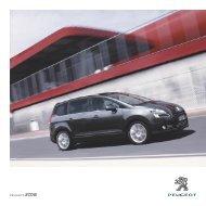 Peugeot 5008 Brochure - S G Petch