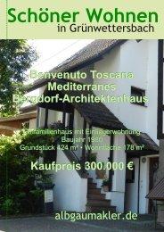 Benvenuto Toscana Mediterranes Bergdorf-Architektenhaus ...