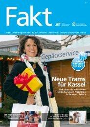Neue Trams für Kassel - Kasseler Verkehrs- und Versorgungs-GmbH
