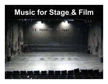 Music for Stage & Film - band4me