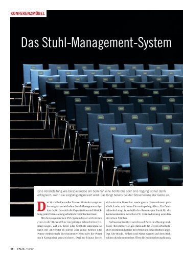 Das Stuhl-Management-System