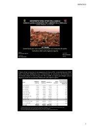 Contributo per una ricerca nazionale sul consumo di suolo - Planeco