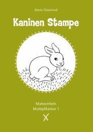 Kaninen Stampe MatteM1 Facit