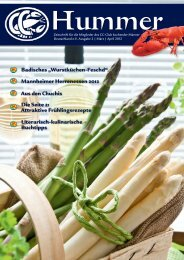 Download dieser Ausgabe (PDF, 5 MB) - CC-Club kochender Männer