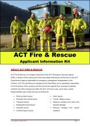 about act fire & rescue - Pilot Aptitude Training Systems