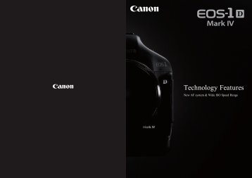 Technology Features - Canon