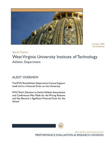 West Virginia University Institute of Technology Athletic Department