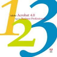 Adobe(R) Acrobat(R) 4.0 Tips for Business Professionals