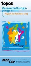 Quartals-Programm als PDF herunterladen - Jazz Lev e. V.