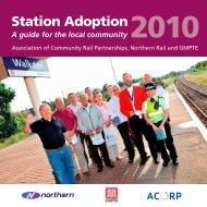 Station Adoption - Association of Community Rail Partnerships - UK ...