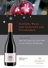 Festliche Weine zum Geniessen und Verschenken (PDF)