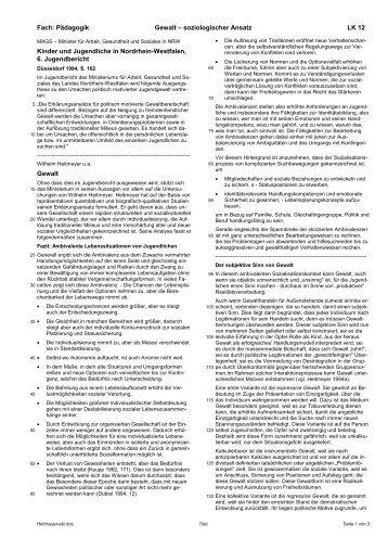 Heitmeyer-Text - Ploecher.de