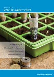 Venture skaber vækst 2009 VF.pdf - KapitalRejsen