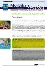 MorBihan session - Conseil général du Morbihan