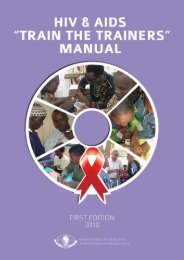 """HIV&AIDS """"TRAIN THE TRAINERS"""" MANUAL AFRICAN ... - Source"""
