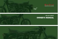 IMPORTANT NOTICE - Royal Enfield