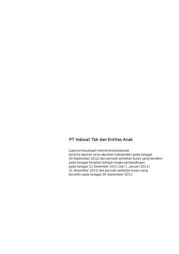 Faktor bunga dan rumus bu laporan keuangan tw 3 2012 indosat ccuart Images
