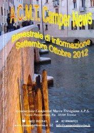 2012 settembre - ottobre - Associazione Camperisti della marca ...