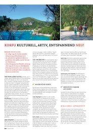 KorFu Kulturell, aKtiv, entSpannend neu! - SKR Reisen