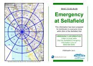 What to do in an emergency booklet - Sellafield Ltd