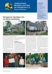 3 - Landesverband Westfalen und Lippe der Kleingärtner e.V.