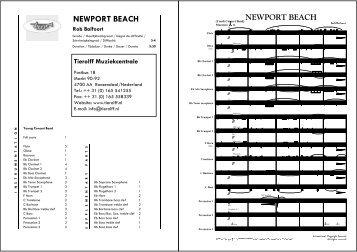 NEWPORT BEACH - Tierolff Muziekcentrale