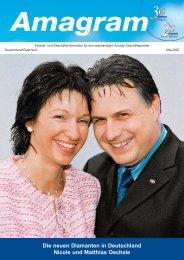 Die neuen Diamanten in Deutschland Nicole und Matthias ... - MLM