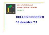 COLLEGIO DOCENTI 11 dicembre '12 - Liceo Artistico Statale di ...