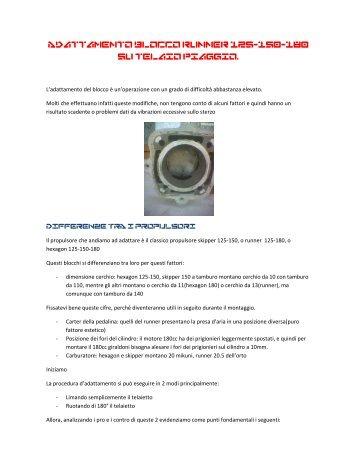 Adattamento blocco runner 125.pdf - Ciao Cross Club