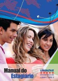 Manual do Estagiário - Uninove