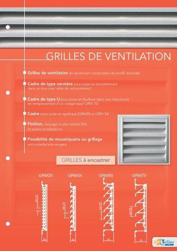 GRILLES DE VENTILATION - Tellier