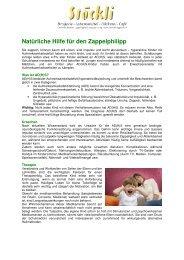 Natürliche Hilfe für den Zappelphilipp - Stöckli Drogerie