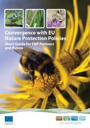 Convergence with EU Nature Protection Policies - European ...