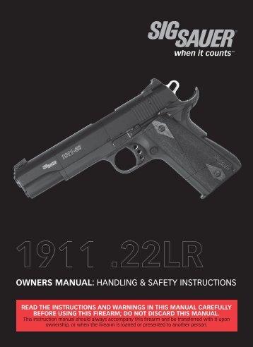 2015 sig sauer catalog rh yumpu com sig sauer p226 owner's manual sig sauer p210 owner's manual